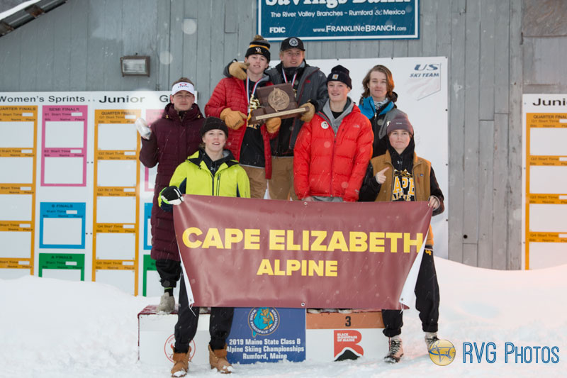 2019 Cape Elizabeth Class B Alpine Boys Team Champions