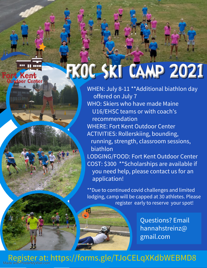 FKOC Ski Camp 2021 Made with PosterMyWall 2